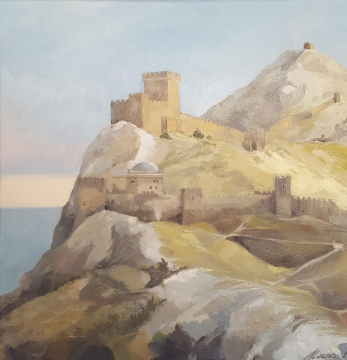 The Sudak genoese fortress